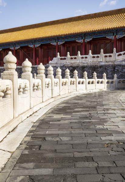 Stone Walkway leading to Temple  Stock photo © tab62