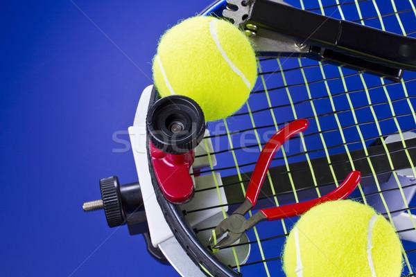 Tennis Maintenance  Stock photo © tab62