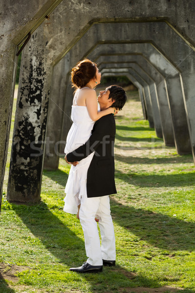 Young Couple Enjoying Each Other  Stock photo © tab62