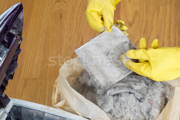 Cleaning Vacuum Cleaner Filter  Stock photo © tab62