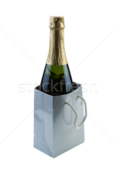 Bottle of Wine as a Gift  Stock photo © tab62