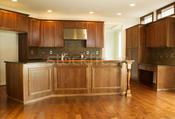 Modern Residential Kitchen  Stock photo © tab62