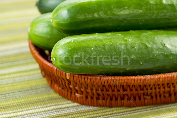 Freshly picked Cucumbers  Stock photo © tab62