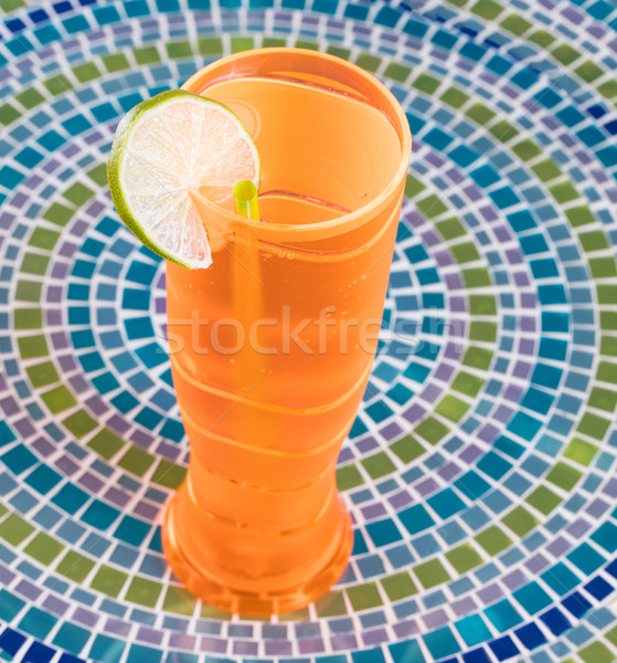 Colorful drink and table top for celebrating the occasion Stock photo © tab62