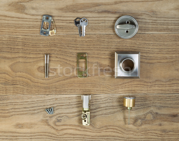Door Lock parts for Residental Home  Stock photo © tab62