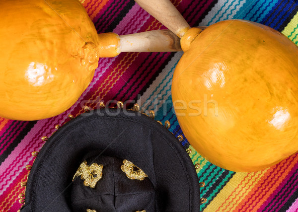Tradicional colorido objetos mayonesa vacaciones vista Foto stock © tab62
