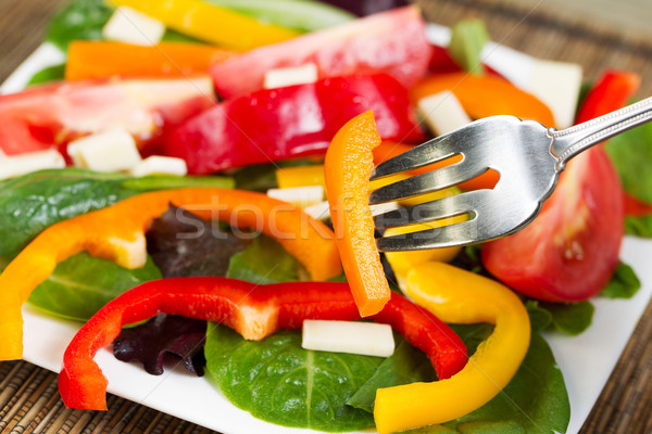 Fresh Salad on Plate  Stock photo © tab62