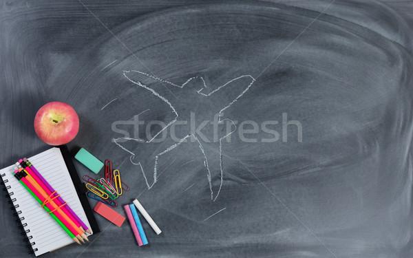 Alto aspettative obiettivi istruzione carta Foto d'archivio © tab62