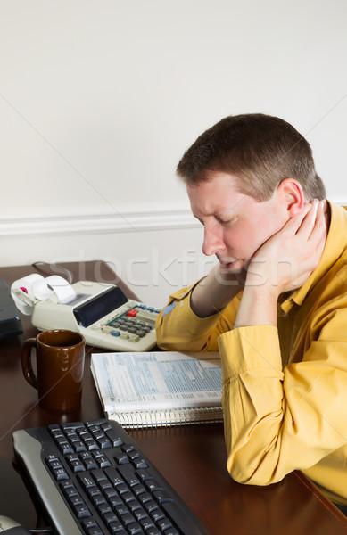 вертикальный фото зрелый человек голову Сток-фото © tab62