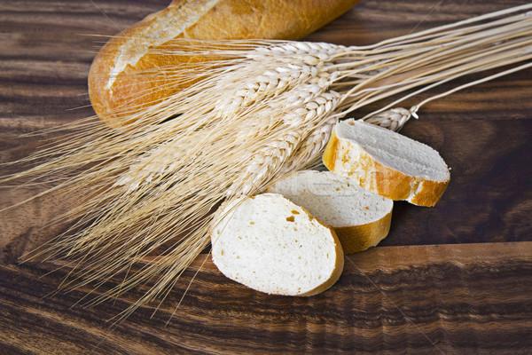 Freshly Sliced Bread Stock photo © tab62