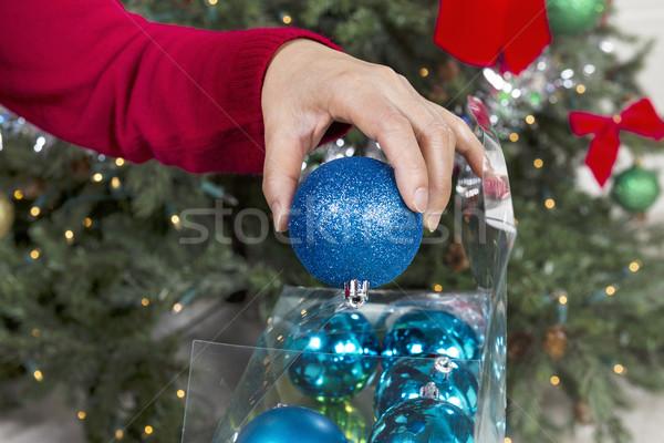 Ending the Seasonal Holidays  Stock photo © tab62