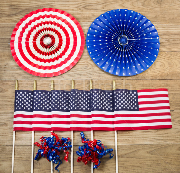 Celebration items for the Fourth of July Indepence day in United Stock photo © tab62