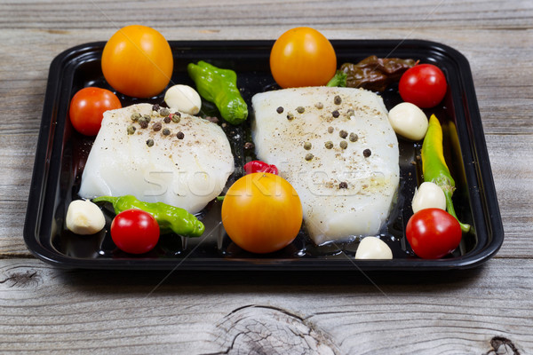 Fresh Fish Fillets ready to cook  Stock photo © tab62