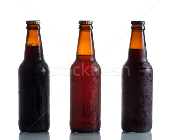 Bottled Fresh Cold Beer  Stock photo © tab62