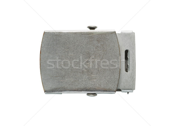Old Silver Belt Buckle  Stock photo © tab62