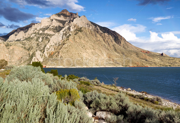 Buffalo Bill State Park with Lake and Mountains  Stock photo © tab62