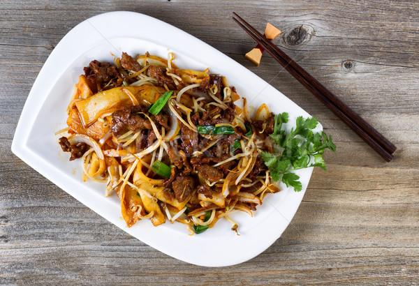 中国語 辛い 牛肉 皿 プレート 準備 ストックフォト © tab62