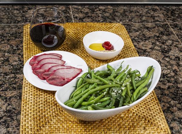Healthy Dinner Plan  Stock photo © tab62