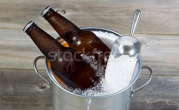 Сток-фото: пива · льда · сезон · Top · мнение