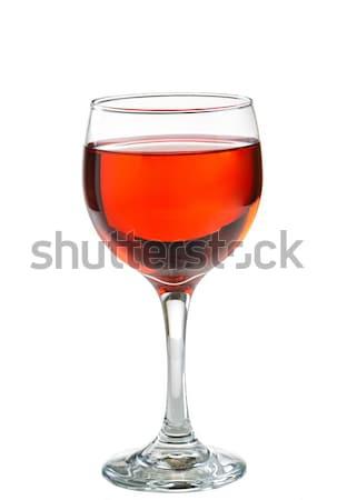 Vinho tinto vidro perfeito ocasião isolado Foto stock © tab62