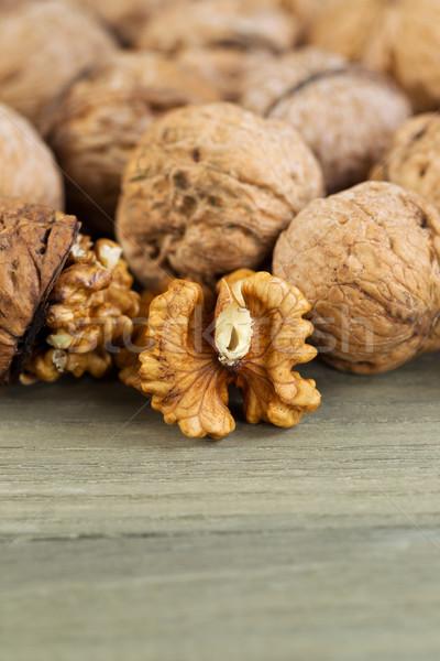 Walnut Halves  Stock photo © tab62