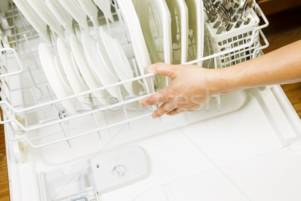 Dishwasher ready for use  Stock photo © tab62