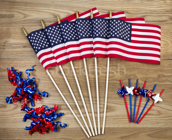 Fourth of July Celebration Items for the Holiday  Stock photo © tab62