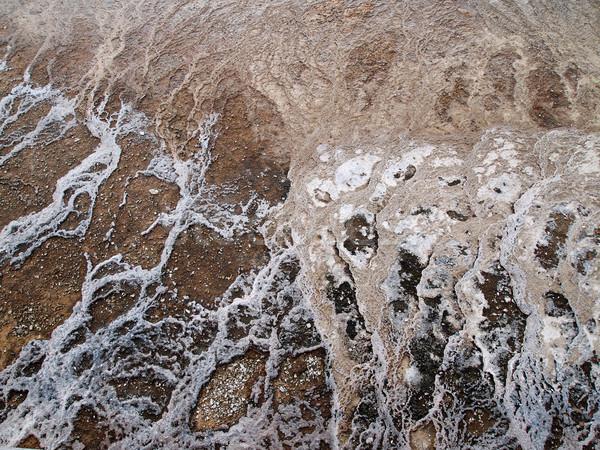 Thermisch bad mineralen afbeelding abstract landschap Stockfoto © tab62