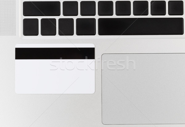 Cartão de crédito fraude computador phishing negócio Foto stock © tab62