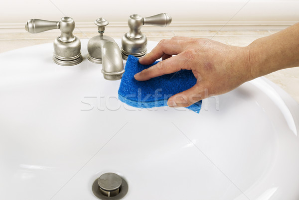 Bathroom Sink Cleaning  Stock photo © tab62