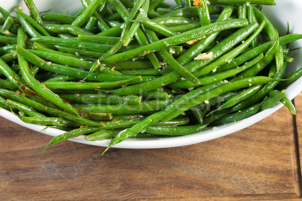 Freshly Cooked Green Beans  Stock photo © tab62