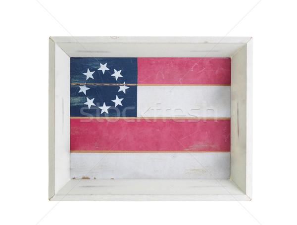 żywności pić serwera USA banderą wewnątrz Zdjęcia stock © tab62