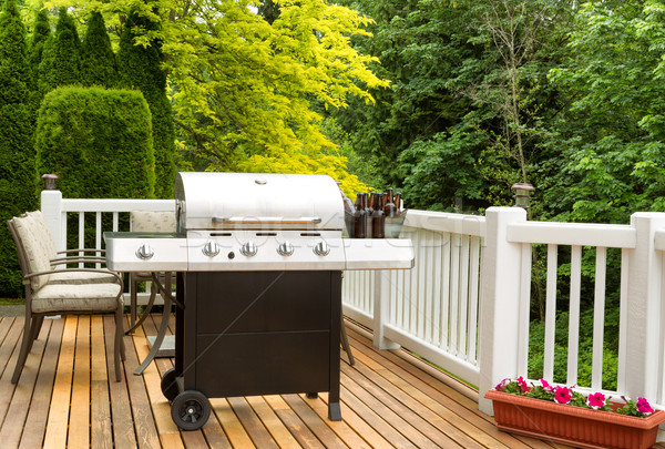 BBQ and Beer for outdoor party time  Stock photo © tab62