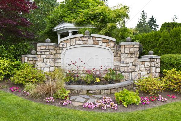 Peaceful Garden Pavilion Stock photo © tab62