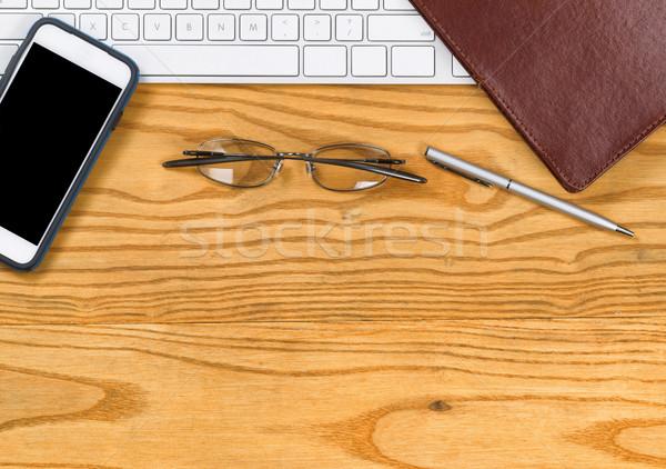 Desktop фундаментальный рабочих служба Top мнение Сток-фото © tab62