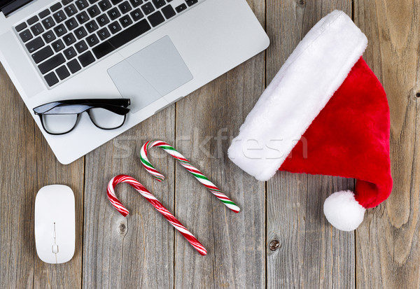 Christmas spirit at workspace   Stock photo © tab62