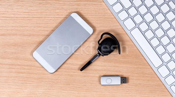 Moderne telecommunicatie gegevensopslag communicatie Stockfoto © tab62