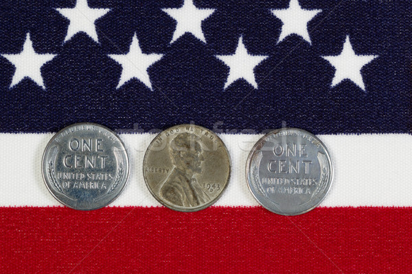 United States World War II Steel Cents  Stock photo © tab62