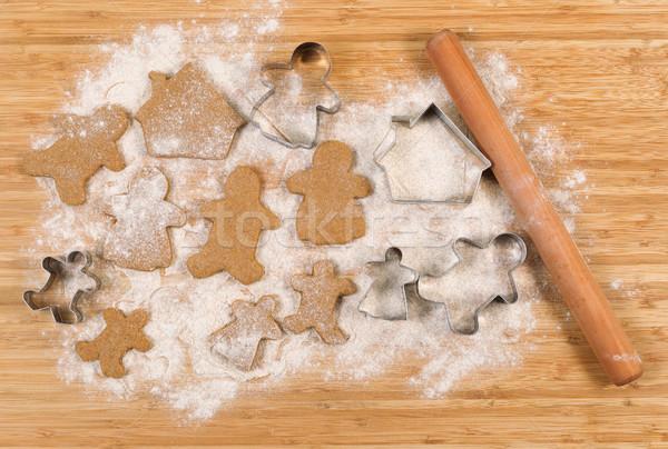 Famille membre cookies fêtes Photo stock © tab62