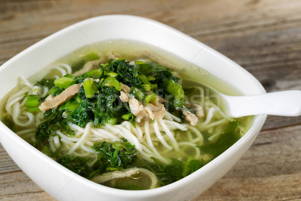 Noodle and vegetable soup ready to eat  Stock photo © tab62