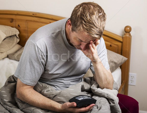 Daily Boring Wake Up Call for Work  Stock photo © tab62