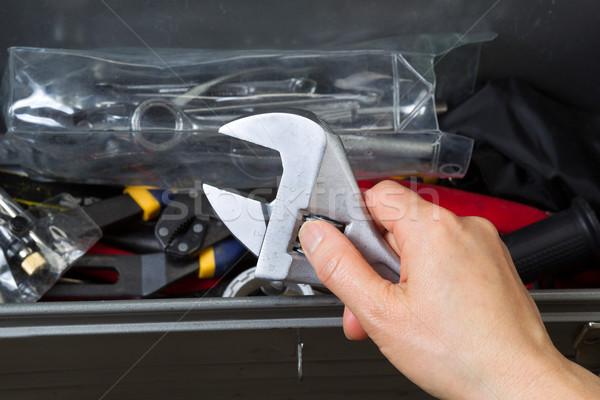 Used Adjustable Wrench  Stock photo © tab62