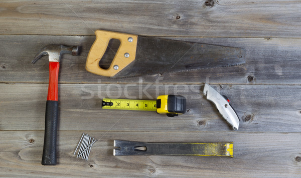 Fundamenteel hand tools home reparatie top Stockfoto © tab62