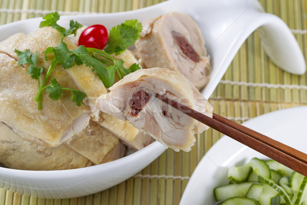 Asian Roasted Chicken ready to eat  Stock photo © tab62