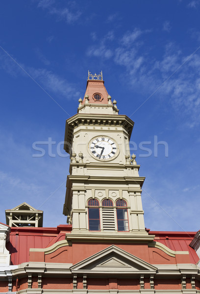 Top part of City Hall in Victoria Canada Stock photo © tab62