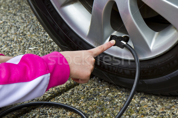 Tire Pressure- Gas Saver Stock photo © tab62