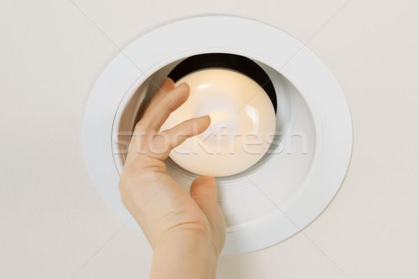 テスト 新しい 電球 写真 ブランド ストックフォト © tab62