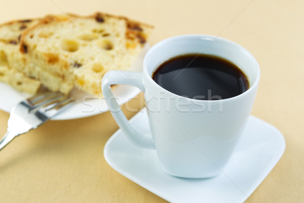 Coffee and Cake Ready for Breakfast  Stock photo © tab62