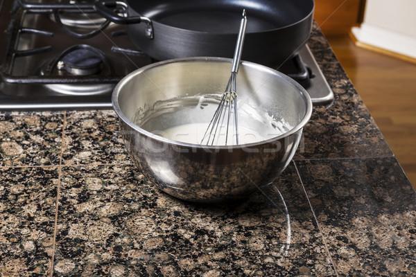 Pancake Batter in Bowl  Stock photo © tab62