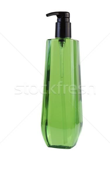 Marka yeni şişe duş jel Stok fotoğraf © tab62